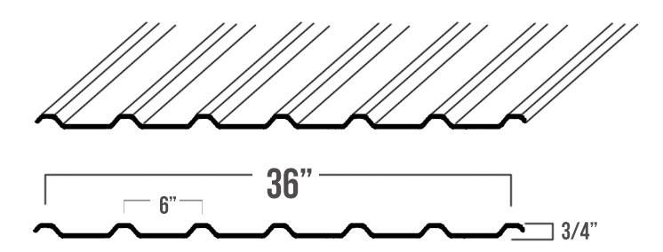 U Panel Metal : Metal roof color and panel options in abilene texas
